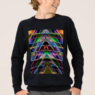 ピラミッド-楽しむな治療エネルギースペクトル スウェットシャツ