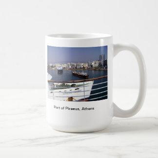 ピレウス、アテネの港 コーヒーマグカップ