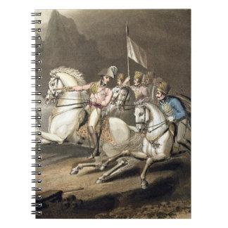 ピレネー山脈、「tの勝利からの1813年7月28日、 ノートブック