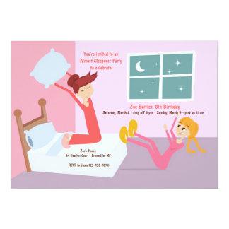 ピローファイトの眠りのパーティの招待状 カード