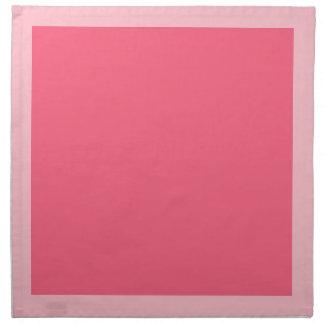 ピンクおよび明るいピンクのナプキン ナプキンクロス