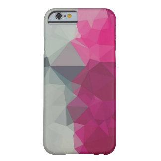 ピンクおよび灰色のartistcの水晶iphoneの場合 barely there iPhone 6 ケース