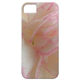 ピンクおよび白いカーネーションのiPhone 5の箱 iPhone SE/5/5s ケース
