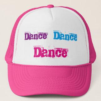 ピンクおよび白いトラック運転手の帽子 キャップ