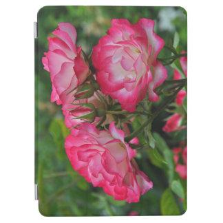 ピンクおよび白いバラ iPad AIR カバー