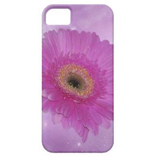 ピンクおよび紫色のガーベラのデイジー iPhone SE/5/5s ケース
