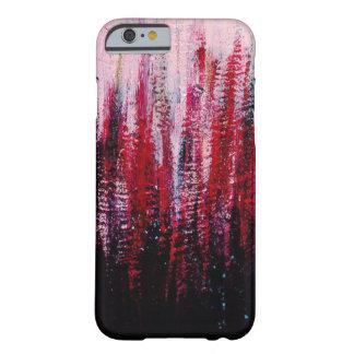 ピンクおよび紫色の電話箱 BARELY THERE iPhone 6 ケース