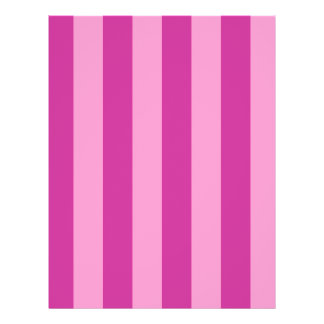 ピンクおよび赤すみれ色のストライプ チラシ