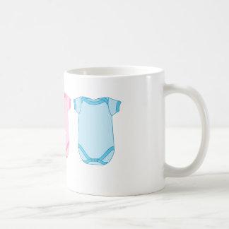 ピンクおよび青い新生児のマグのBabygro コーヒーマグカップ