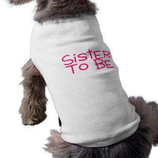 ピンクがある姉妹 ペット服