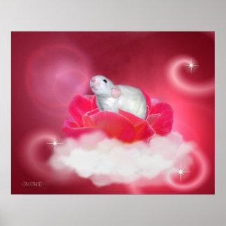ピンクでかわいらしい ポスター