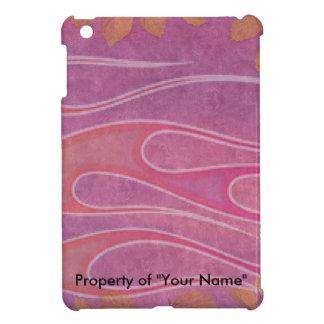 ピンクでかわいらしい iPad MINIケース