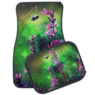 ピンクによっては世界のカーマットに対してNの蜂が開花します カーマット