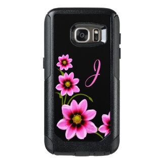 ピンクによってはOtterboxモノグラムのなSamsung S7の箱が開花します オッターボックスSamsung Galaxy S7ケース