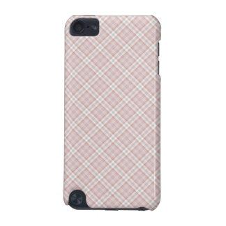 ピンクによって点検される場合 iPod TOUCH 5G ケース