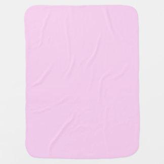 ピンクのかわいらしい無地だけOSCB14 ベビー ブランケット