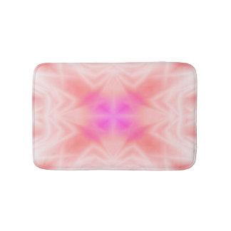 ピンクのしぶき バスマット