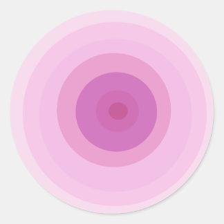 ピンクのための情熱 ラウンドシール
