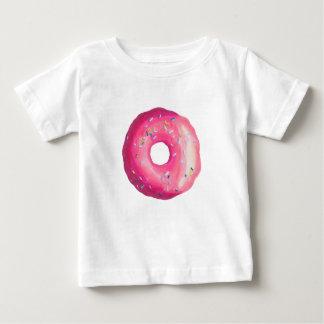 ピンクのつや消しのドーナツは振りかけ、 ベビーTシャツ