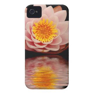 ピンクのはすの花 Case-Mate iPhone 4 ケース