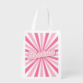 ピンクのはす エコバッグ