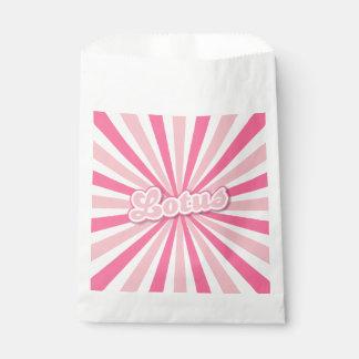 ピンクのはす フェイバーバッグ