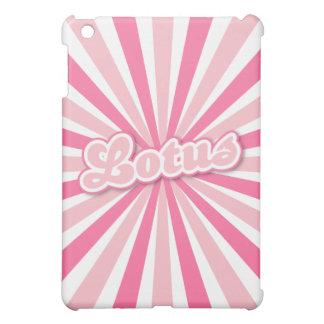 ピンクのはす iPad MINIカバー