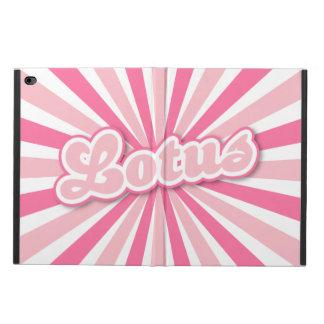 ピンクのはす POWIS iPad AIR 2 ケース
