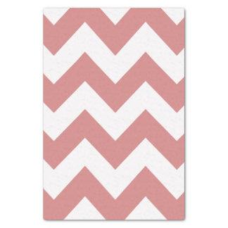 ピンクのはっきりしたでモダンなシェブロン 薄葉紙