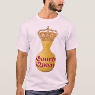 ピンクのひょうたんの女王(人のTシャツ) Tシャツ