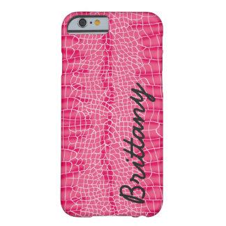ピンクのわにiphone 6のやっとそこに場合 barely there iPhone 6 ケース