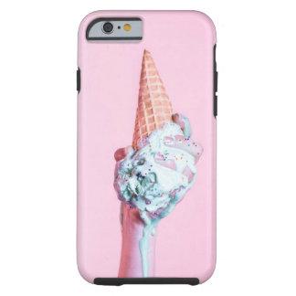 ピンクのアイスクリームのiphone 6/6sの場合 ケース