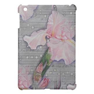 ピンクのアイリス原稿の変化2 iPad MINI CASE