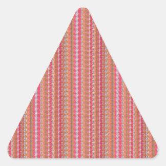 ピンクのアクリルの質のブランクのテンプレートは文字の写真を加えます 三角形シール