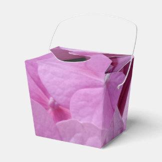 ピンクのアジサイの花は好意箱を取ります フェイバーボックス