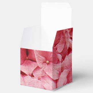 ピンクのアジサイの花 フェイバーボックス