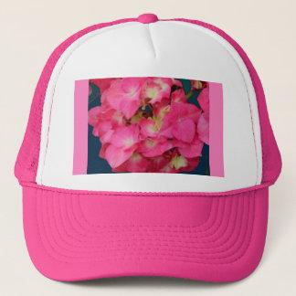 ピンクのアジサイティール(緑がかった色)はSHARLESによって花のギフトを着色します キャップ