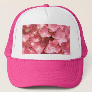 ピンクのアジサイ キャップ