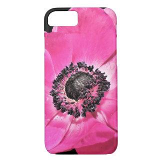 ピンクのアネモネの花 iPhone 8/7ケース