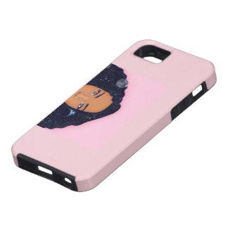 ピンクのアフリカの場合 iPhone SE/5/5s ケース