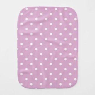 ピンクのアンゴラの水玉模様のベビー用バーブクロス バーブクロス