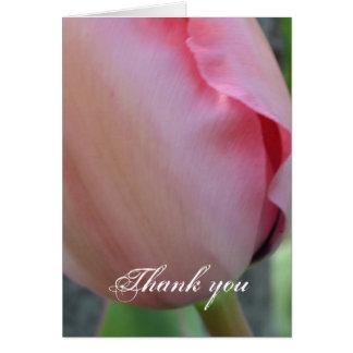 ピンクのインスピレーション カード