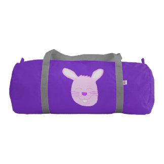 ピンクのイースターのウサギの体育館のバッグ ジムダッフルバッグ