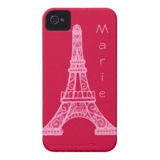 ピンクのエッフェル塔 Case-Mate iPhone 4 ケース