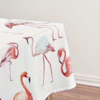 ピンクのエレガントなフラミンゴパターン テーブルクロス