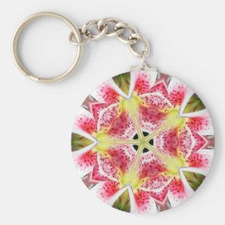 ピンクのオニユリ- Keychain キーホルダー