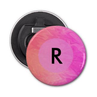 ピンクのオレンジ質のデザイン 栓抜き