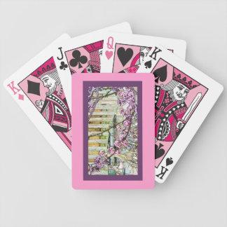 ピンクのカジノカード!! バイスクルトランプ