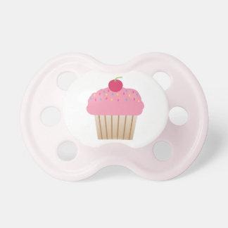 ピンクのカップケーキの調停者 おしゃぶり