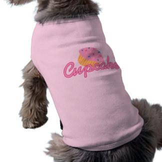 ピンクのカップケーキ ペット服